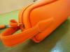 K.Mさま フルオーダー  オレンジ 生成り太糸ステッチ